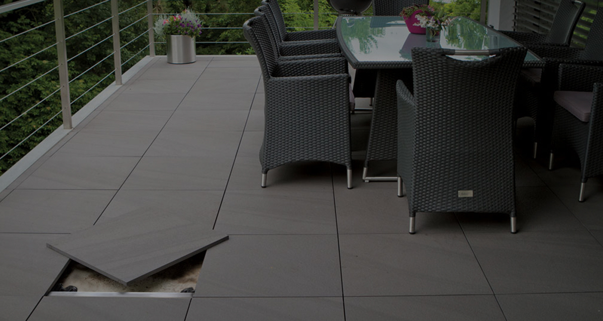 Mbrico tile decking porcelain product for Garden decking squares
